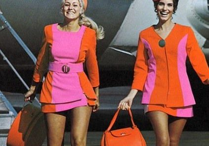 Single and pretty_ What being a stewardess was like until the 1970s